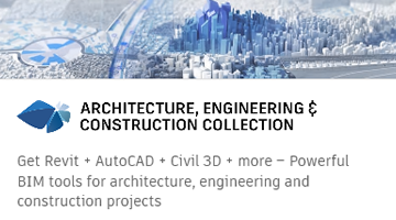 Autodesk AEC Collection for Architecure, Engineering & Construction