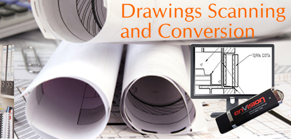 Professional drawings and manuals scanning and collation services