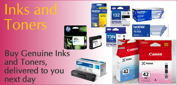 Genuine Inks and Toners