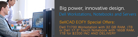Dell Workstations, Notebooks and Servers