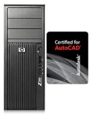 HP Autodesk Certified Workstation Z200 X3470