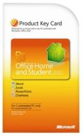 Microsoft Office Home and Student 2010 PKC(Product Key Card)