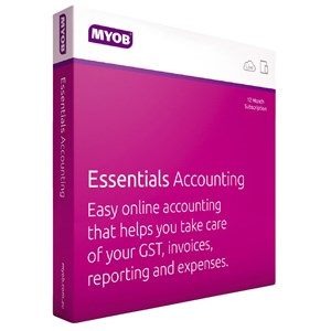 MYOB Essentials Accounting with One Payroll 1 Year