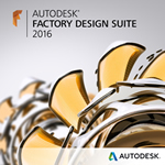 Buy Autodesk Factory Design Suite 2016, New, Subscription, Desktop Subscription, Rental Licenses
